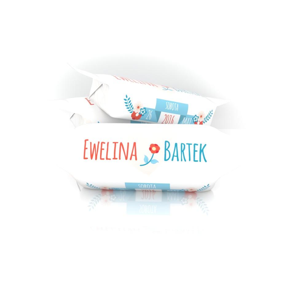 Krówka ślubna Eweliny i Bartka