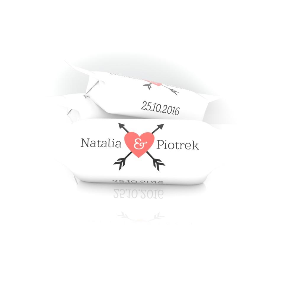Krówka ślubna Natalii i Piotrka