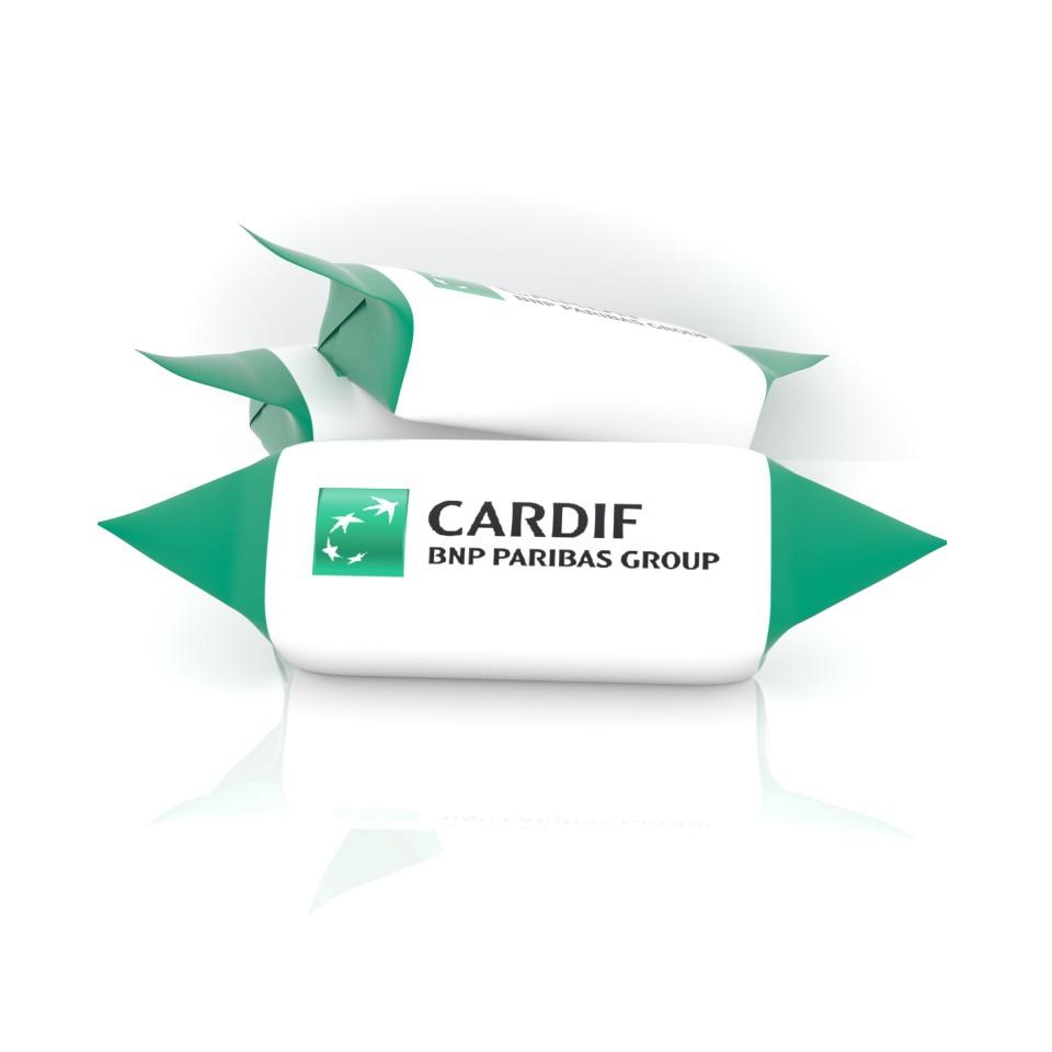 Krówka reklamowa z logo Cardif