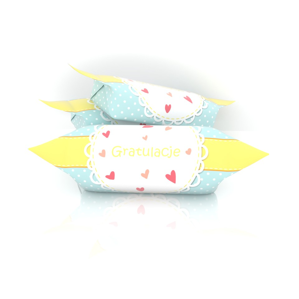 gratulacje krówka baby shower