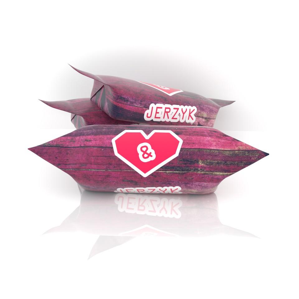 Krówka serce czerwone