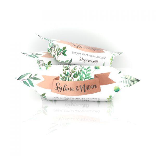 Krówki Ślubne Sylwii i Natana - zielone łodygi