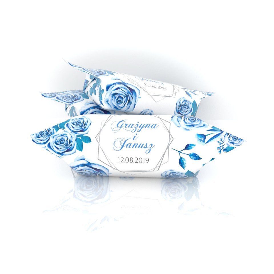 Niebieskie róże dla Grażyny i Janusza