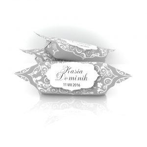 Krówki na ślub w elegancki wór