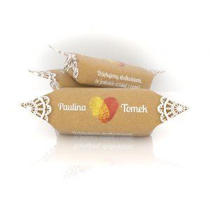 Paulina i Tomek - dziękujemy słodkościami