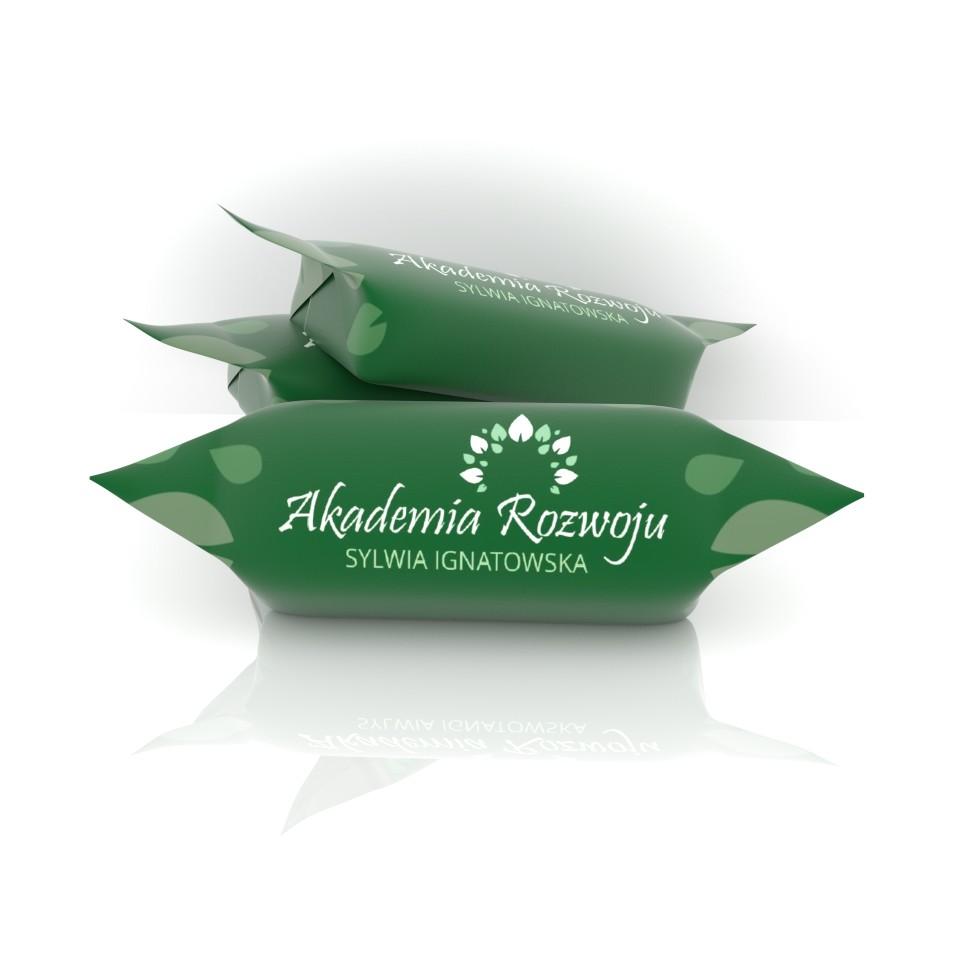 krówki z logo akademia rozwoju