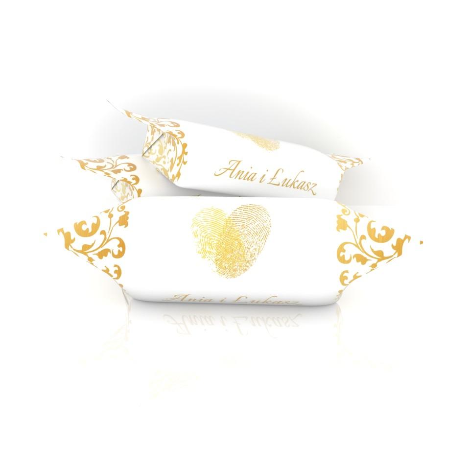 złote krówki na ślub