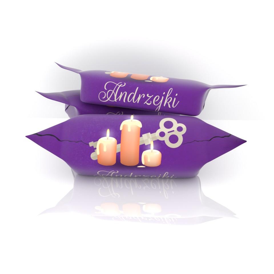 słodycze krówki na Andrzejki