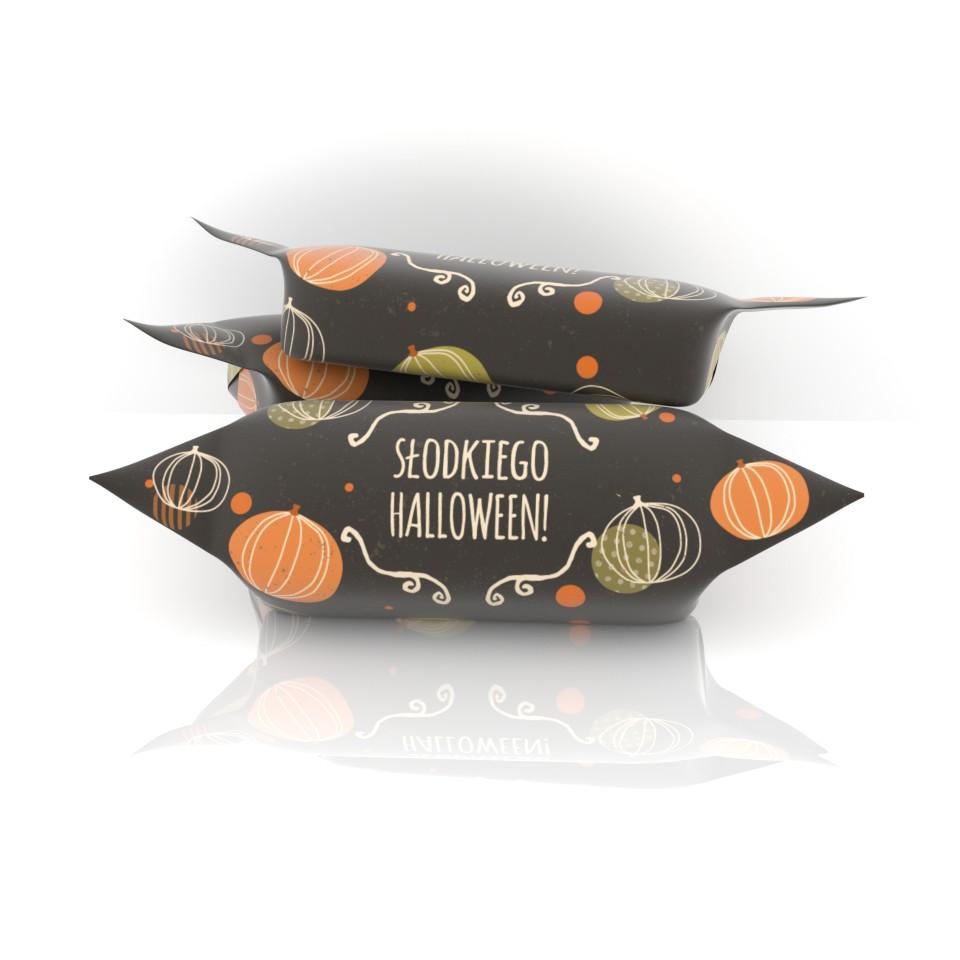 słodycze krówki na haloween