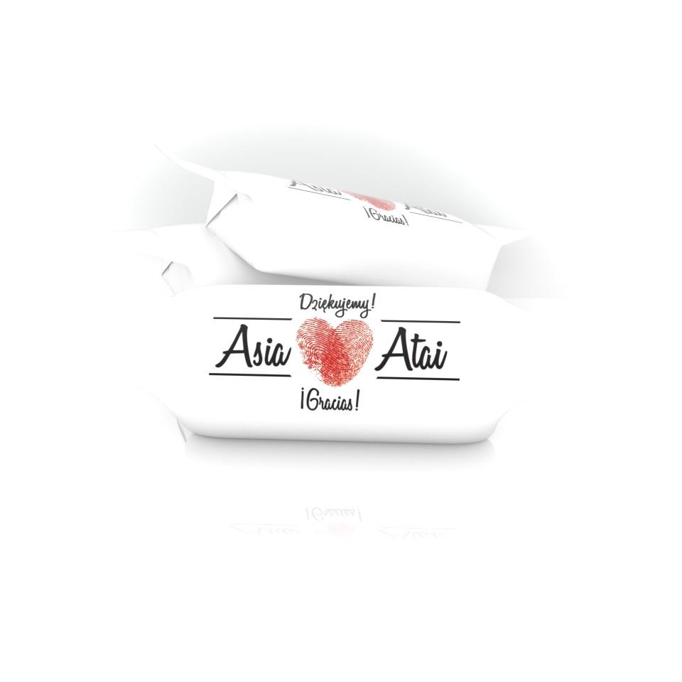 Podziękowania Ślubne - Asia i Atai