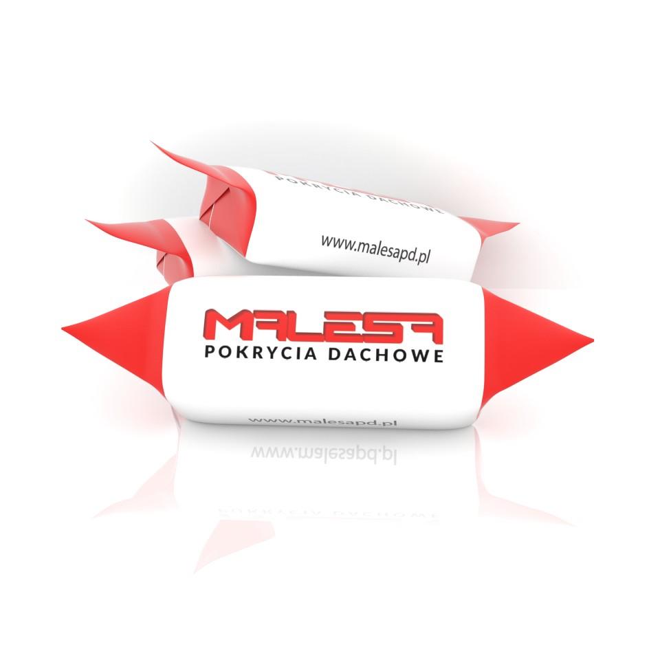 Krówki firmowe z logo - Malesa pokrycia dachowe