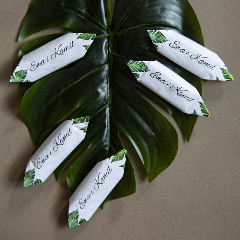 Botaniczne krówki ślubne