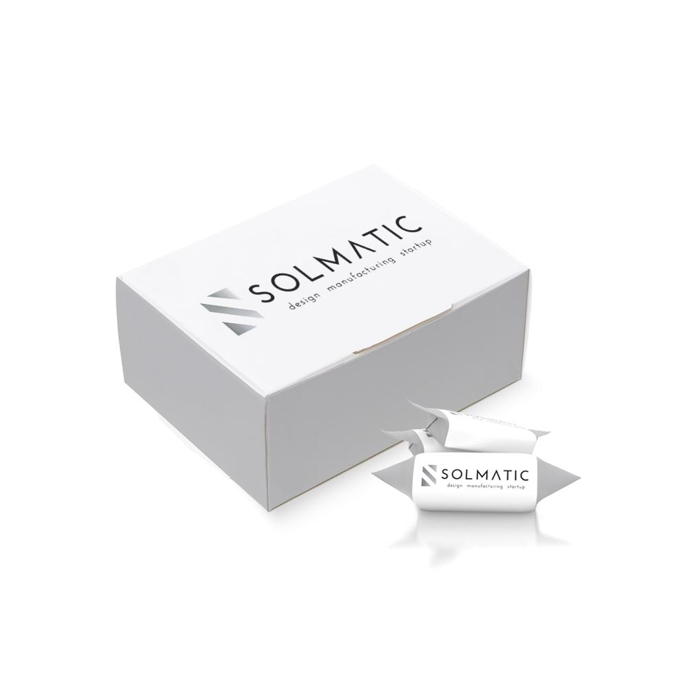 krówki z logo solmatic
