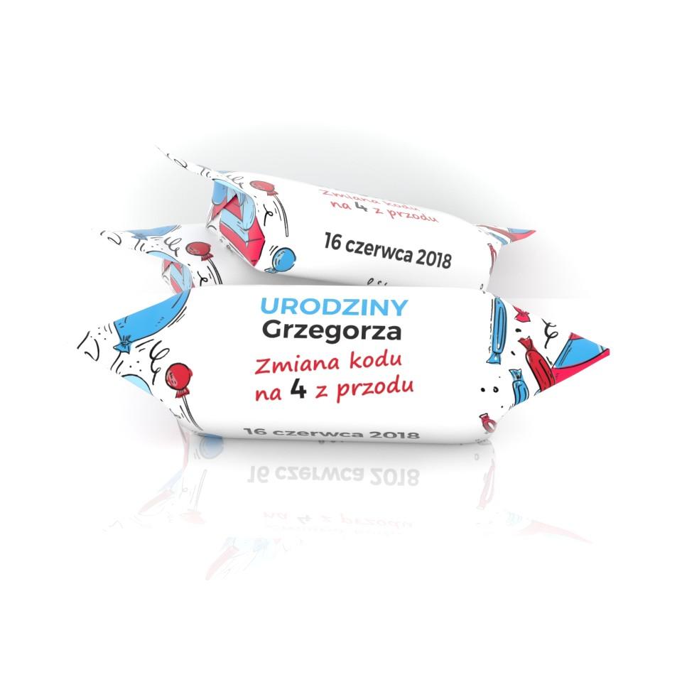 Krówki urodzinowe dla Grzegorza
